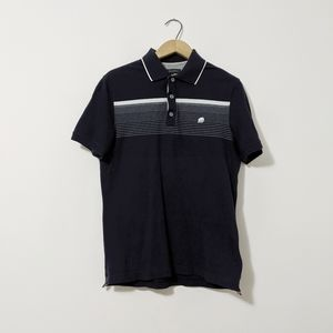 Banana Republic polo shirt size small navy blue